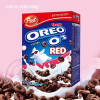 NON HALAL POST OREO CEREAL RED WITH MARSMALLOW 500gr