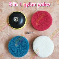 mata gerinda poles nylon 5 in 1 mata bor poles bahan nilon mata grenda