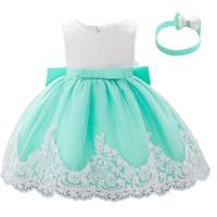 Dress bayi Gaun pesta Pakaian ulang tahun anak perempuan baju lebaran - 80, Tosca