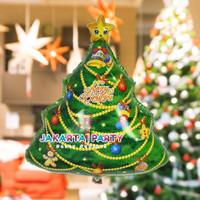 Balon Foil Natal / Balon Merry Christmas / Balon Foil Pohon Natal #2