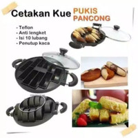 Loyang cetakan pukis/pancong Happy Call + tutup kaca