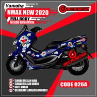 Decal Stiker Motor Nmax New 2020 Doraemon Full Body KODE 026