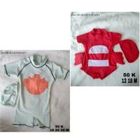 Sale!!! Diskon!!! BAJU RENANG DIVING BABY CLEAR WATER IKAN FUGU&CRAB