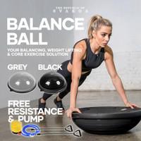 Svarga Balance Ball | Bosu Ball | Yoga Pilate Gym Fitness