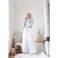 Mybamus Byna Culotte Pants White M15787 R19S5
