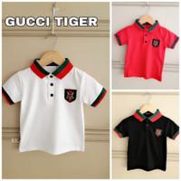 MILANBERRY GUCCI TIGER POLO TOP kaos anak laki kerah branded merk baju