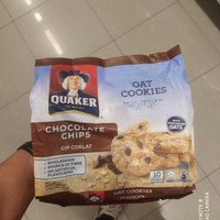 quaker oat cookies choco chips 270gr