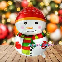 Balon Foil Natal / Balon Merry Christmas / Balon Foil Snowman 2