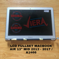 LCD FULLSET MACBOOK AIR 13 MID 2013 - 2017 / A1466 ORIGINAL