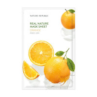 Nature republic real nature orange beauty mask sheet