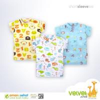 Baju Atasan Bayi Anak Bayi Velvet Junior / Pakaian Baby SNI BLOON - S