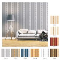 Wallpaper dinding motif garis type 704 murah berkualitas