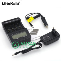 Litokala lii 500 Liitokala Lii 500 + Adaptor Smart charger Li ion NiMH