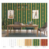 Wallpaper dinding garis klasik type 701 murah berkualitas