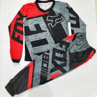 setelan baju cross jersey anak setelan baju trail size 2-10thn
