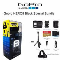 Gopro Hero 8 Black Paket Special Bundle.