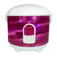 Rice Cooker Miyako MCM-528 Grey [1.8 L] ( MCM528 ) - Merah Muda