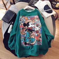 Mickey Sweater Jaket Distro Jaket Disney Sweater Disney Sweater Kartun