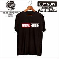 Kaos Baju MARVEL STUDIOS Kaos Superhero Comic - Gilan Cloth - S, Hitam