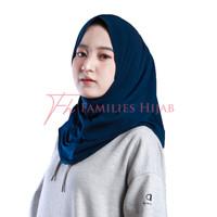 Hijab Sport Non Pet Kerudung Olahraga dan Sehari-hari Bahan Jersey