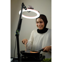 "Overhead Bracket kamera HP Flat Lay with Ringlight 10"" Pixmix"