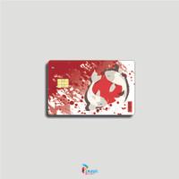 STICKER PELINDUNG KARTU ATM SIM KTP E-MONEY LEM KUAT ANTI GORES