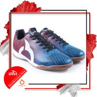 Sepatu Futsal Ortuseight FORTE HELIOS IN Blue Ortred Black White