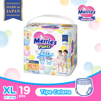 MERRIES PREMIUM POPOK BAYI CELANA XL 19