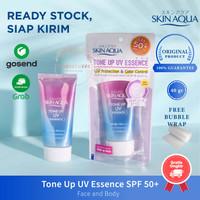 Skin Aqua Tone Up UV Essence SPF 50 + Sunblock Sunscreen Wajah