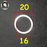 Ring Conversi Lubang Arbor 16 ke 20 mm 16-20 mm Ring adapter 16-20