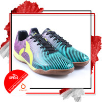 Sepatu Futsal Ortuseight FORTE HELIOS IN Tosca Rhod Red Black N. Green