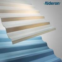 Atap Upvc ALDERON Tipe 83 Translucent /Semi Transparant Harga Per Mtr