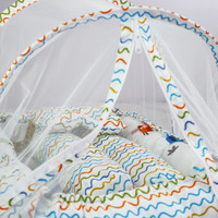 DAMABO perlengkapan tempat tidur bayi kelambu anti nyamuk motif hewan