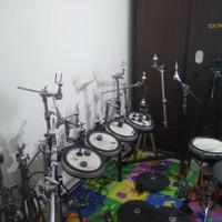 Yamaha Boom Cymbal Sleeve Sleve Mesin Bubut Drum Akustik DTX Elektrik