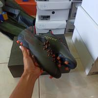 sepatu bola adidas nemeziz 19.1 black gold orange fg