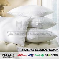 MH - Bantal Tidur Hotel Silikon GRADE A / Bantal Tidur Kepala - Bantal Tidur