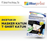 Blueprint Transfer Paper A4 160gsm (Dark Colour T-Shirt)
