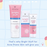 EMINA Bright Stuff for Acne Prone Skin Face Wash (50ml/100ml) / Moistu