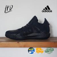 "Sepatu Basket Adidas Dame 6 GCA Leather Core Black"" Original"