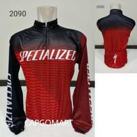Kaos JERSEY S2090 Baju Sepeda Balap Profesional Lengan Panjang