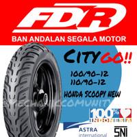 Ban Luar Scoopy Ring 12 Depan Belakang FDR City Go 100/90-12 110/90-12