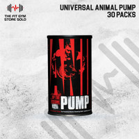Universal Animal Pump 30 Pack Pre Workout