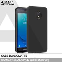 Ultraslim Samsung Galaxy J2 Core | Softcase Black Matte - Hitam