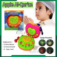 Apple Learning Qur'an Apple Alquran + PROJECTOR LAMP Mainan Edukasi