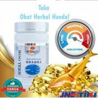 Fish Oil Softgel Wootekh 100% ORI / Deep Sea Fish Oil Green World