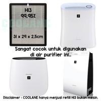 COOLANE HEPA Filter H13 99,95% Refill Sharp Air Purifier FP-F30Y, F30L