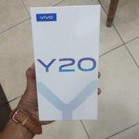 vivo y20 3gb 64gb garansi resmi 1 tahun - blue