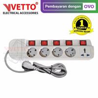 VETTO Stop Kontak MS-3 (5L) - MS-3/3M Multi Socket Outlets
