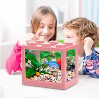 Akuarium Ikan Cupang Akrilik Aquarium Mini Acrylic
