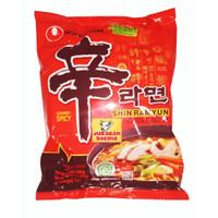 Mie Korea Instant Noodle Shin Ramyun Nongshim Gourmet Spicy 120gr